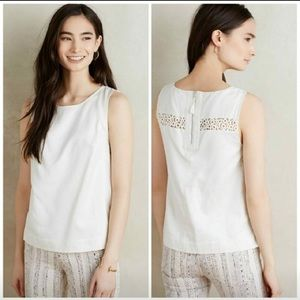 HD in Paris Anthropologie Little White Blouse
